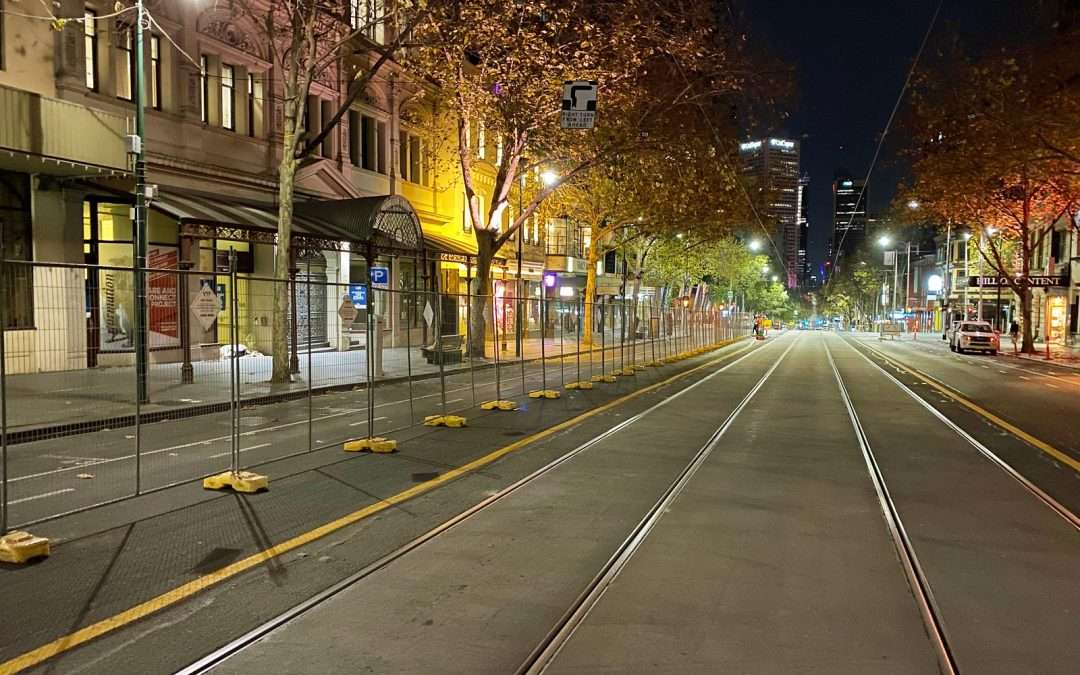 VICTORIAN TEMPORARY FENCING (VTF) INSTALL OVER 2000M OF INDUSTRIAL PANELS IN THE CBD